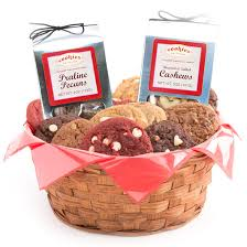 cookie baskets delivery gourmet cookie basket one dozen cookies by design