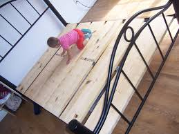 Metal Bed Frame With Wooden Slats Build Your Own Box King Size