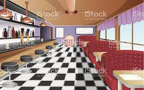 restaurant interior clip art vector images u0026 illustrations istock