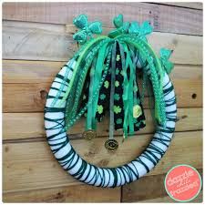re purpose dollar store headbands into diy st s day decor
