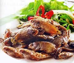 chien cuisine food cá rô đồng chiên giòn ca ro dong chien gion