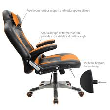 Bucket Seat Desk Chair Top Best Office Chairs For Back And Neck Pain With Parisons Module