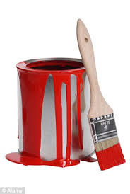 red paint sales of red tester paint pots soar as women create homemade
