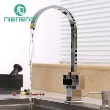 kitchen faucet modern nieneng modern brass kitchen faucet handle tap accessories