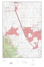 Arizona Topographic Map by Mytopo Fort Huachuca Arizona Usgs Quad Topo Map