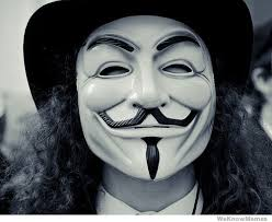 V For Vendetta Mask Anonymous Mask Weknowmemes