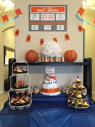 sports theme baby shower basketball baby shower decorations party kit
