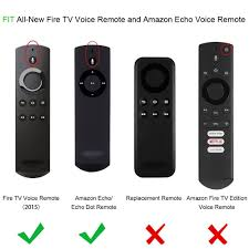 amazon com fintie protective case for amazon fire tv stick voice