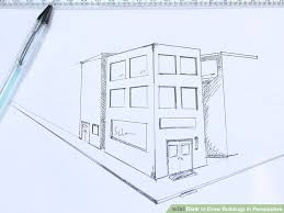how to draw buildings in perspective 9 steps with pictures