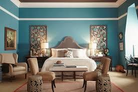d馗o chambre bleu canard 1001 idées pour une chambre bleu canard pétrole et paon sublime