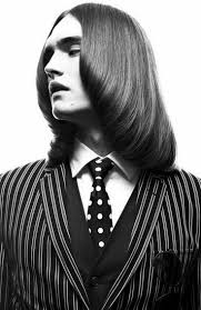 from messy long hair to groomed classic vintage mens hair mens