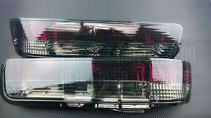 tail light smoke kit p2m p2 nps13rtl01s jy rear tail light set 2pc smoked nissan 240sx