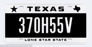 exes license plate frame motorist has license plate with message banned by