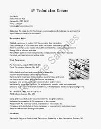 Audio Visual Resume Champs De Lessay Technical Writer Cover Letter Sample Chief