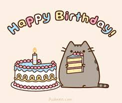 Happy Birthday Meme Tumblr - pusheen birthday card pusheen pusheen cat and cat