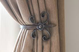 How To Use Curtain Tie Backs Pictures Of Curtain Holdbacks Memsaheb Intended For Holdbacks For