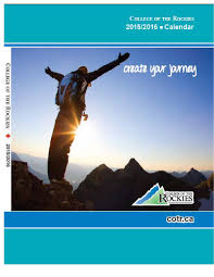 college of the rockies program course calendar by college of the