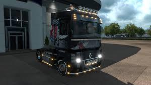 renault truck magnum renault magnum route 66 special addon euro truck simulator 2