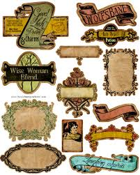 Printables Halloween by Poisonous Labels Awesome Get Your Mod Podge Out Now And Let U0027s Get