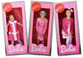 barbie party enjoying small