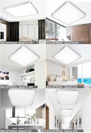 dimmable modern led ceiling lights for living room bedroom kids