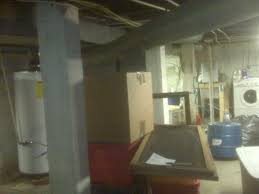 basement support post failure building u0026 construction diy