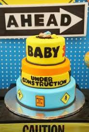 Construction Themed Centerpieces by Under Construction Baby Shower Baby Shower Ideas Pinterest