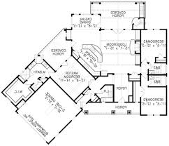 Bi Level Floor Plans With Attached Garage by 4 Bedroom 3 Car Garage Floor Plans