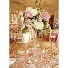 Cheap Clear Vases For Centerpieces by Best 25 Trumpet Vase Centerpiece Ideas On Pinterest Tall Vases
