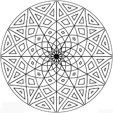 detailed geometric coloring pages coloring pages for kids