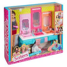 Vanity Playset Barbie Sisters Skipper Doll With Bath Vanity Giftset Target