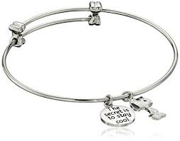 amazon peanuts stainless steel snoopy charm bangle bracelet