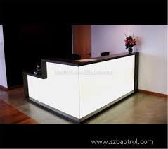 Rounded Reception Desk by Circular Reception Desk For Contemporary Home Office Furniture Rcp