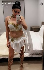Killer Nurse Halloween Costume Ariel Winter Shows Curves Fourth Sizzling Halloween