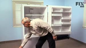 amana refrigerator repair u2013 how to replace the crisper drawer