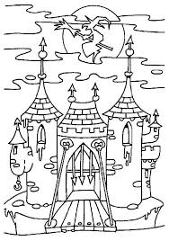 castle coloring pages coloring pages kids