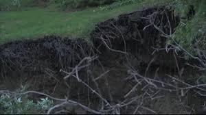 Sinkhole In Backyard Giant Sinkhole Consumes Indiana Couple U0027s Backyard Abc News
