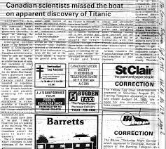 titanic article 1985 jpg
