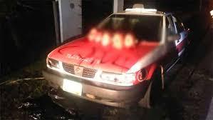 nissan tsuru taxi five severed heads left on hood of taxi in veracruz