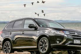 black mitsubishi outlander road tests outlander out in front road tests driven