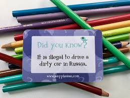 fun facts come to life cars in russia cars posts and home