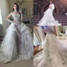 silver wedding dresses luxury silver wedding dresses 2018 high neck sheer