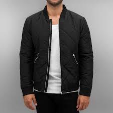 jack u0026 jones jacket bomber jcodiamond in black men 12113350blk