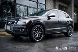 Audi Q5 Black Rims - audi q5 with 22in lexani r twelve wheels exclusively from butler