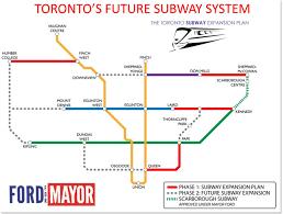 Vaughan Mills Floor Plan A History Of Toronto Transit Dreams As Told In Maps