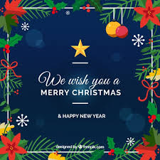 we wish you a merry background vector free