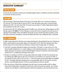 executive summary word template sogol co