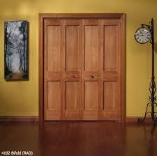 Wood Closet Doors Solid Wood Bifold Closet Doors Reliabilt 6 Panel Pine Door