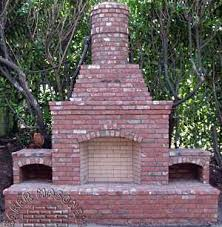 Outdoor Grill And Fireplace Designs - brick patio designs for fireplaces brackets and built ins