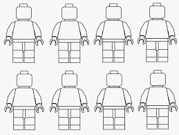 lego man coloring pages print coloring